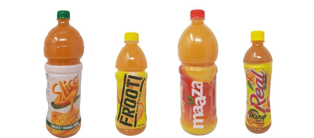 best mango juice brands in india contenders