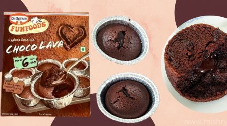 dr oetker funfoods choco lava bake mix review