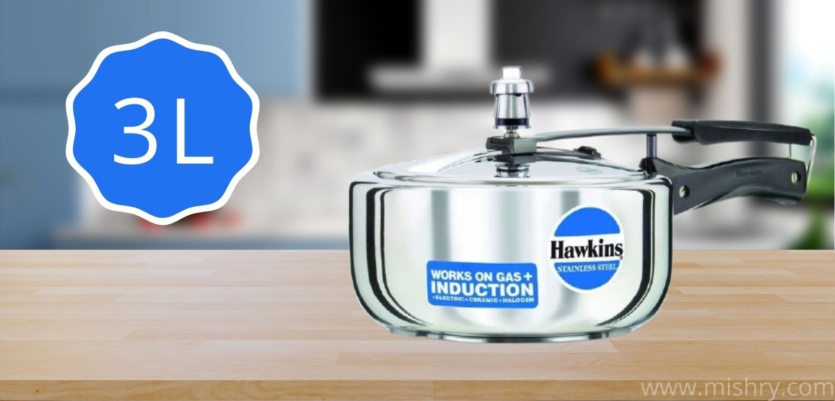 hawkins stainless steel pressure cooker 3 litre review