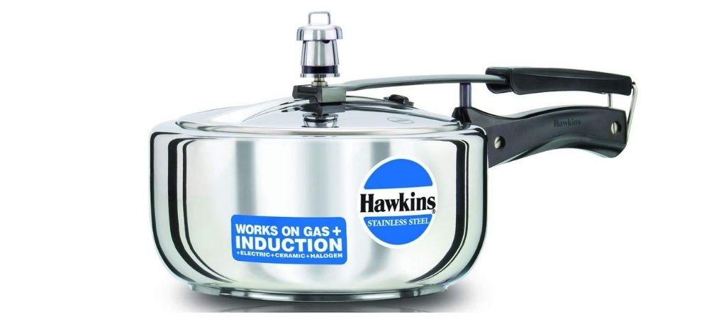 hawkins stainless steel pressure cooker 3 litre