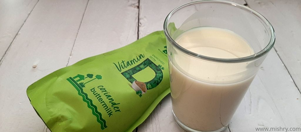 paper boat coriander buttermilk contents