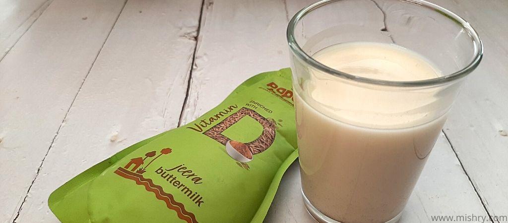 paper boat jeera buttermilk taste test