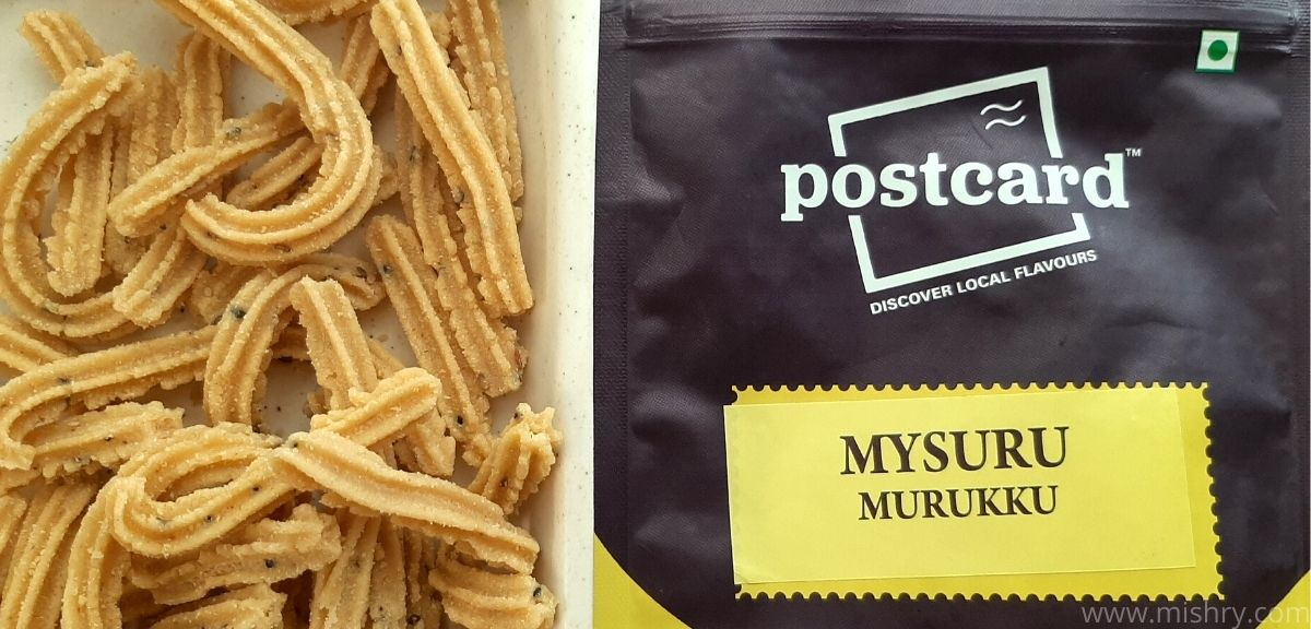 postcard mysuru murukku review