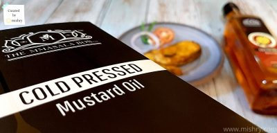 The MMasala Box Cold Pressed Mustard oil review
