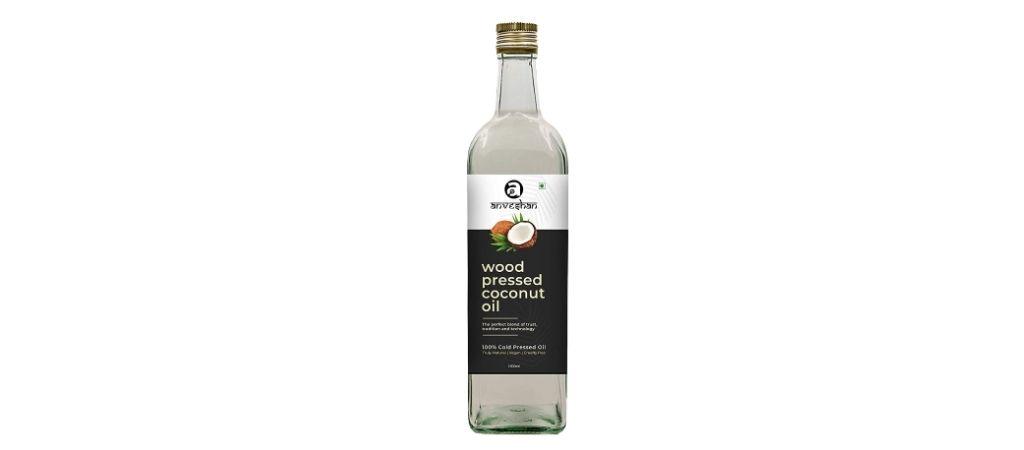anveshan coconut oil packaging