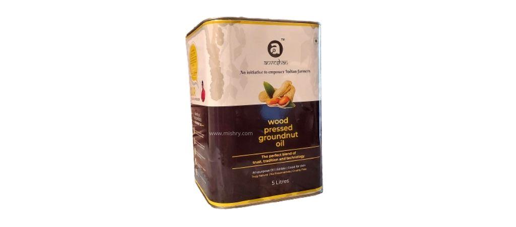 anveshan groundnut oil packaging