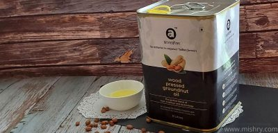 anveshan groundnut oil review