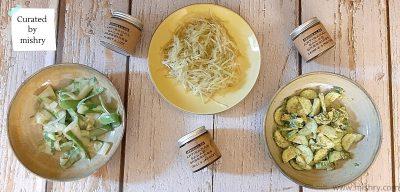 arugula and co salad dressings
