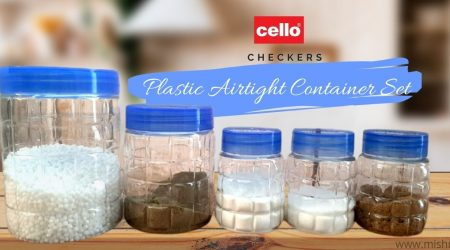 cello checkers plastic air tight container set review