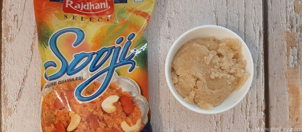 halwa made of rajdhani sooji