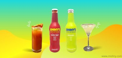 jimmy's cocktail mixes review