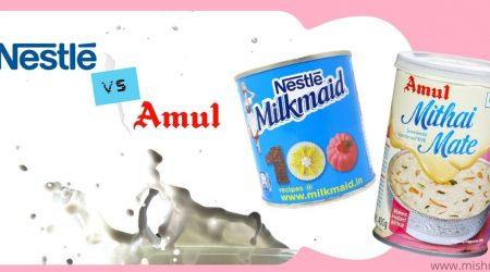 nestle milkmaid vs amul mithai mate condensed milk