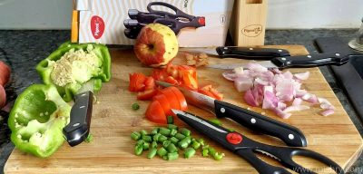 pigeon by stovekraft stainless steel kitchen knives set review