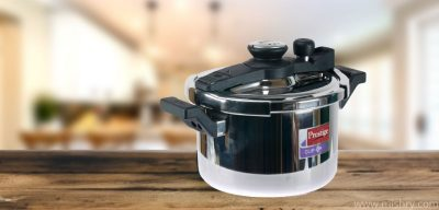 prestige svachh clip on stainless steel pressure cooker 5 l review