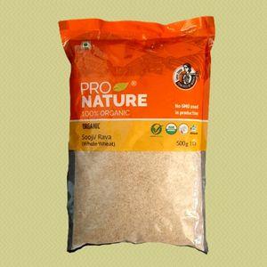pro nature organic sooji