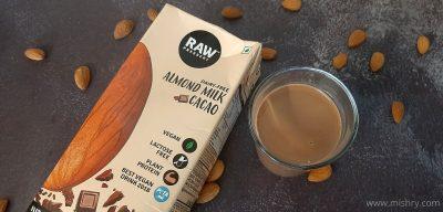 raw pressery almond milk review