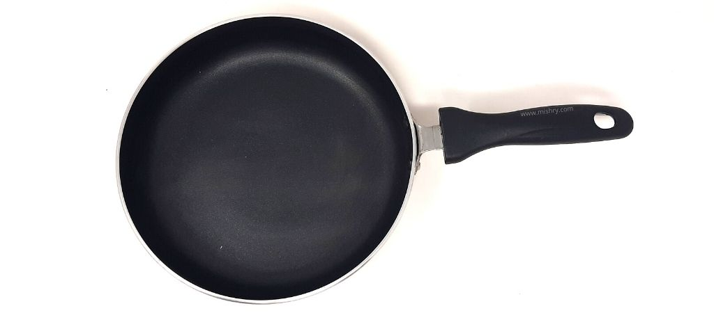 solimo non-stick fry pan surface