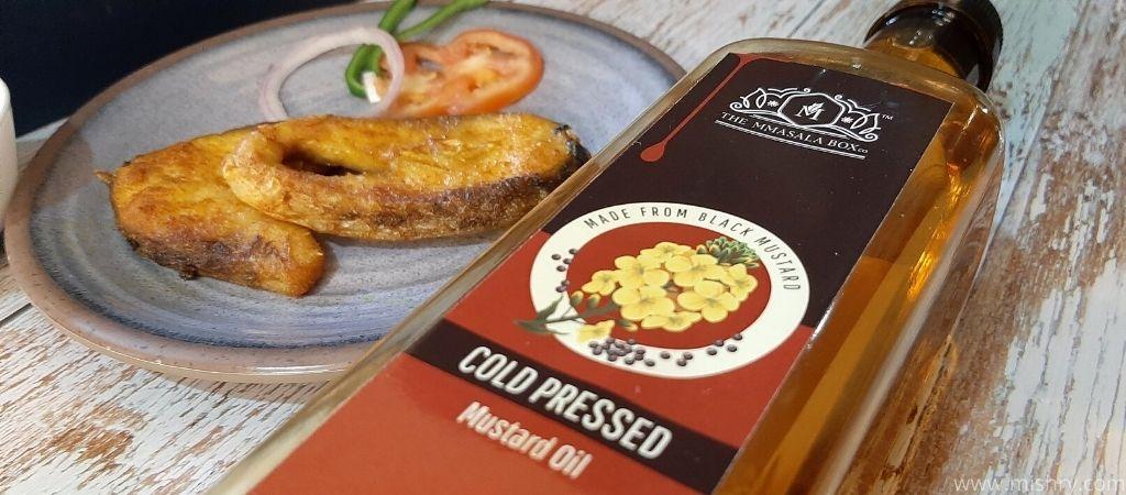the mmasala box co mustard oil review process