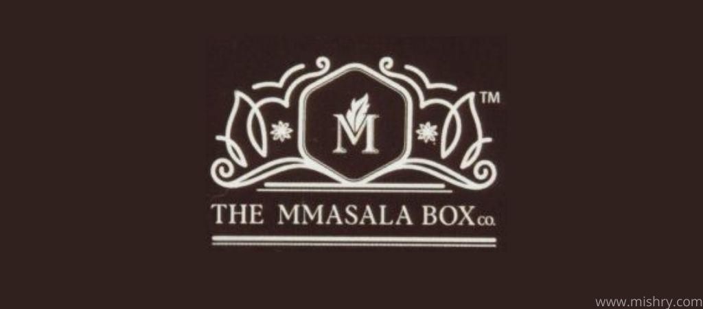 the mmasala box logo