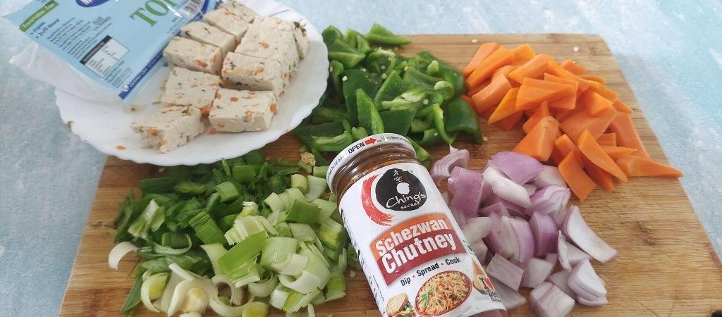vegetables used in murginns tofu review