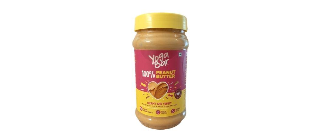 yoga bar pure peanut butter