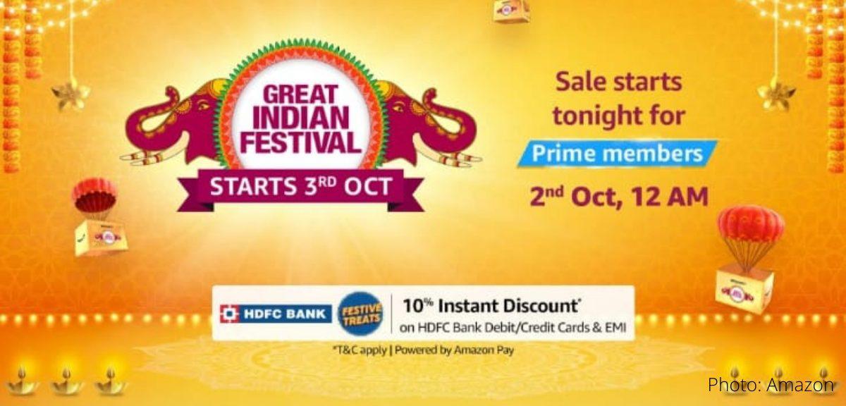 amazon great indian festival sale 2021