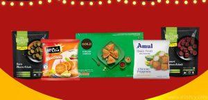 best frozen snacks in india