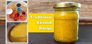 kasundi recipe by pikturenama