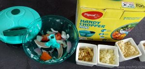 pigeon plastic mini handy and compact chopper review