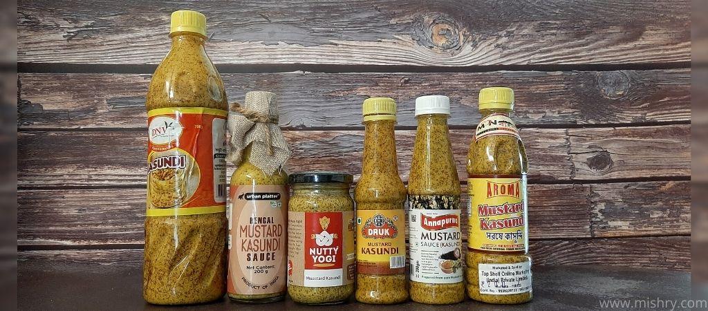 reviewed brands of kasundi